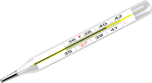 Fieberthermometer klassisch zum temperatur messen